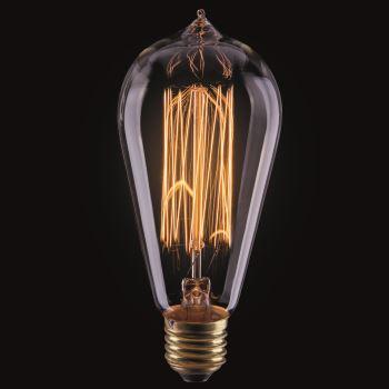 Ретро лампа накаливания Voltega Loft ST64 60W E27 2700K