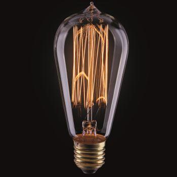 Ретро лампа накаливания Voltega Loft ST58 40W E27 2700K