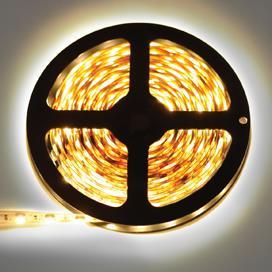 Светодиодная лента Ecola LED Strip Pro 14.4W 24V IP65 60 Led 2800K(P5DW14ESB)