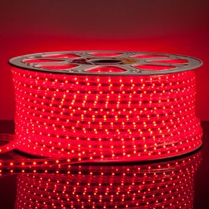 Светодиодная лента Feron LS704 3528/60 LED 4.4W 220V IP68 красный