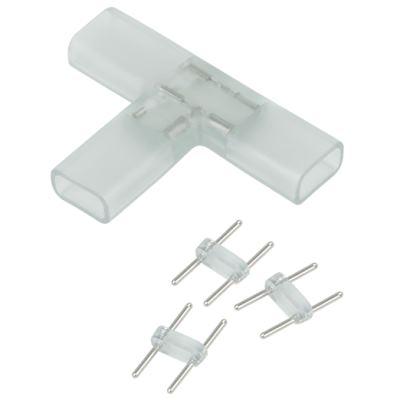 Переходник для ленты Т образный 220V 5050 Elektrostandard