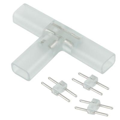 Переходник для ленты Т образный 220V 3528 Elektrostandard