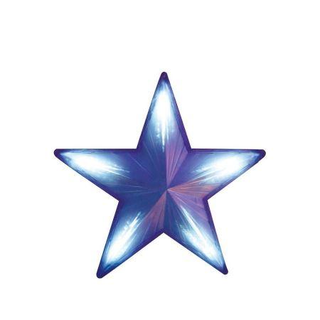 Светодиодная фигура Feron LT030 синий звезда с синим свечением(26800)