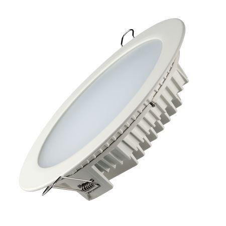 Встраиваемый светильник Varton Downlight 30W 3000K круглый белый аварийный