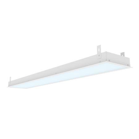 Светодиодный светильник Varton Грильято 36W IP20 6500K 1188x180x50 подвесной с рамкой аварийный