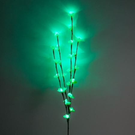Светодиодная ветка Feron LD207B зеленый(26937)