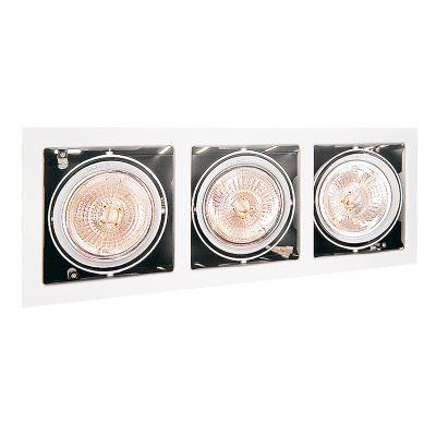 Встраиваемый светильник Lightstar Cardano AR111 белый 214130