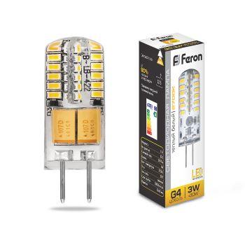 Лампа светодиодная Feron LB-422 G4 3W 12V 2700K 25531