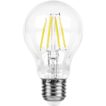 Лампа светодиодная Feron LB-56 филамент A60 5W E27 4000K 25544