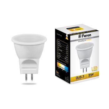 Лампа светодиодная Feron LB-271 MR11 3W G5.3 2700K 25551