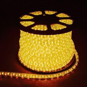 Дюралайт светодиодный Feron LED-F3W 3-х жильный 11х17мм 72LED/м 2.44Вт/м желтый(26068)