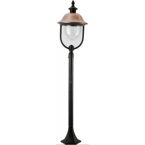Светильник уличный Arte Lamp Barcelona A1486PA-1BK