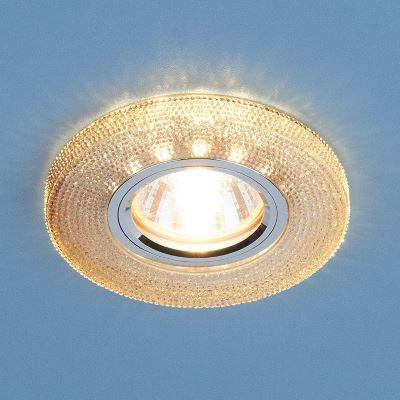 Встраиваемый светильник Elektrostandard 2130 MR16 GС тонированный