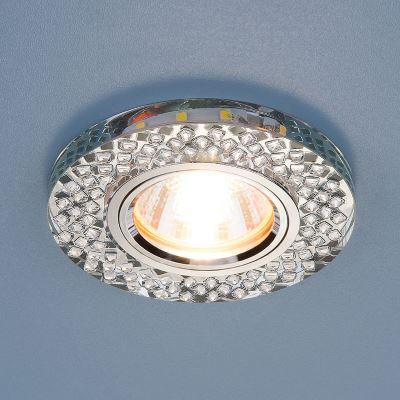Встраиваемый светильник Elektrostandard 2140 MR16 SL зеркальный/серебро