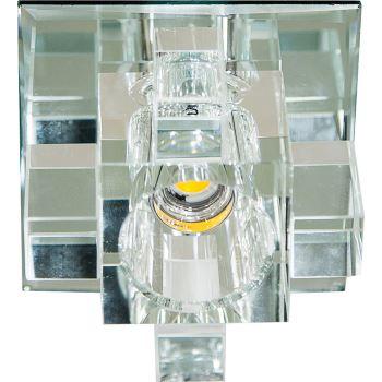 Встраиваемый светильник Feron 1525 LED COB прозрачный