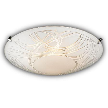 Светильник настенно-потолочный Sonex Trenta хром/белый 4206