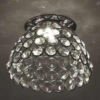 Встраиваемый светильник Novotech Elf-LED хром 357156