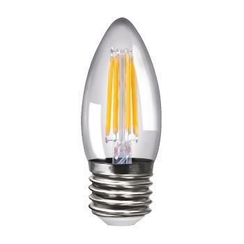 Лампа светодиодная Voltega Crystal LED Свеча 4W E27 4000K
