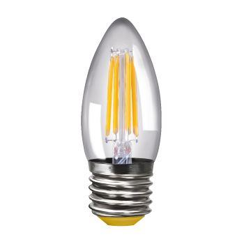 Лампа светодиодная Voltega Crystal LED Свеча 4W E27 2800K