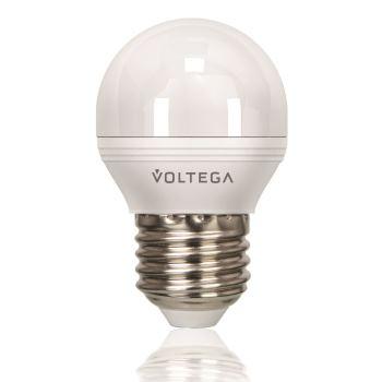 Лампа светодиодная Voltega Simple LED Шар 5.7W E27 4000K