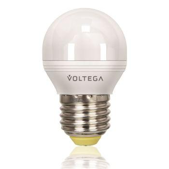 Лампа светодиодная Voltega Simple LED Шар 5.7W E27 2800K