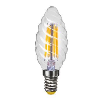 Лампа светодиодная Voltega Crystal LED Свеча витая 4W E14 2800K