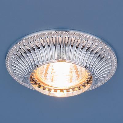 Встраиваемый светильник Elektrostandard 4101 хром