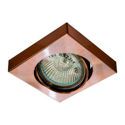 Встраиваемый светильник Feron DL163 медь