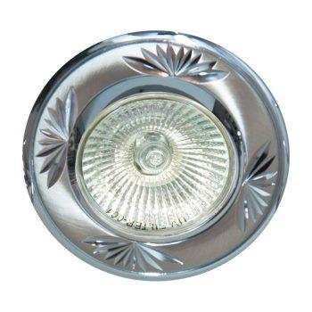 Встраиваемый светильник Feron DL246 титан/хром