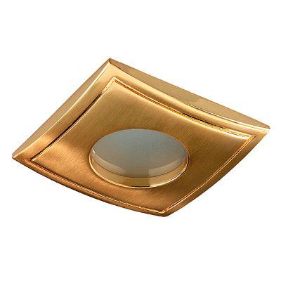 Встраиваемый светильник Novotech Aqua золото 369308