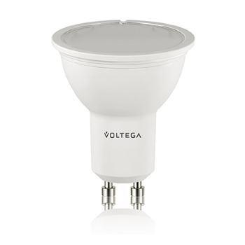 Лампа светодиодная Voltega Simple LED GU10 6W 2800K