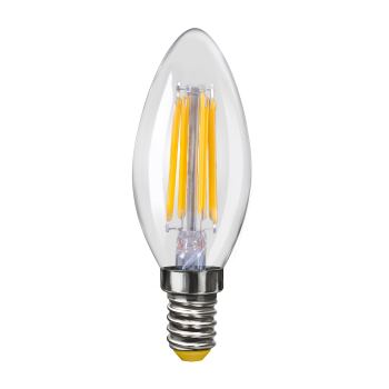 Лампа светодиодная Voltega Crystal LED Свеча 4W E14 2800K