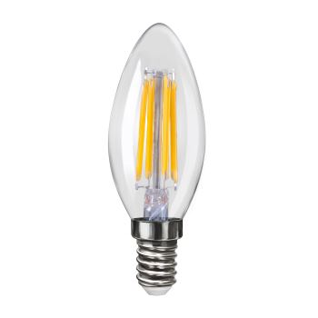 Лампа светодиодная Voltega Crystal LED Свеча 4W E14 4000K