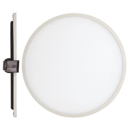 Встраиваемый светильник Mantra Saona Led 24W 4000K матовый белый C0183