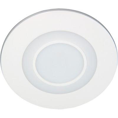 Встраиваемый светильник Feron AL2550 16W 4000K/красная подсветка
