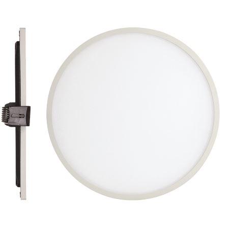 Встраиваемый светильник Mantra Saona Led 18W 4000K матовый белый C0182