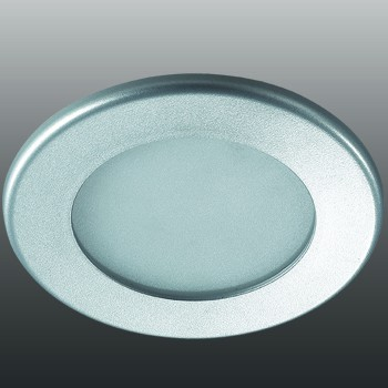 Встраиваемый светильник Novotech Luna 9W 4000K серый 357171