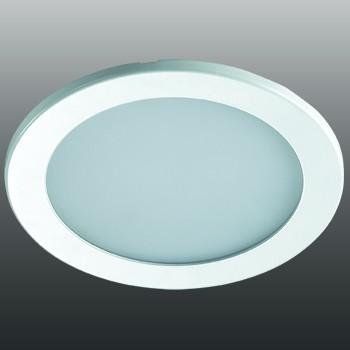 Встраиваемый светильник Novotech Luna 12W 3000K белый 357172