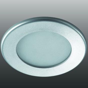 Встраиваемый светильник Novotech Luna 12W 4000K серый 357175