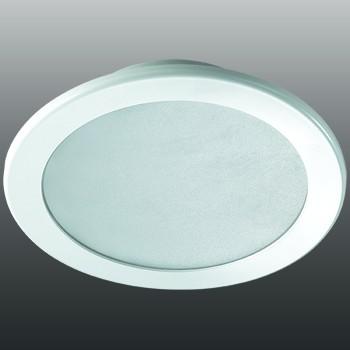 Встраиваемый светильник Novotech Luna 18W 3000K белый 357176