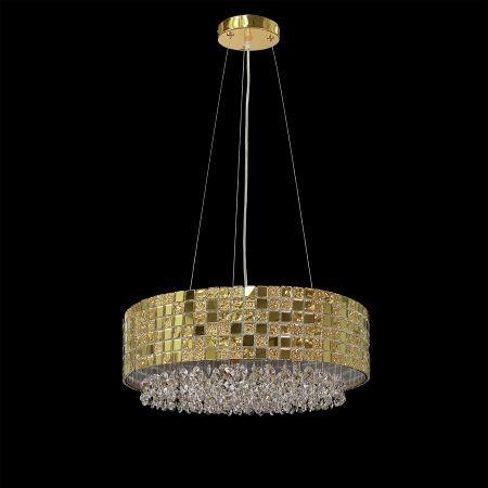 Люстра хрустальная Lightstar Bezazz золото 743162