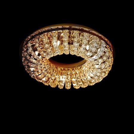 Люстра хрустальная Lightstar Onda золото 741072