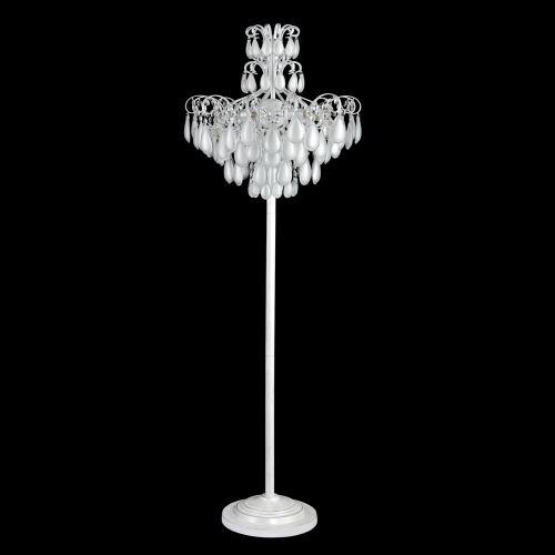 Торшер Crystal Lux Sevilia белый/серебряная патина PT4 Silver