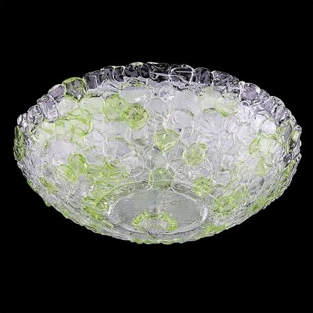 Люстра потолочная Lightstar Murano белый/зеленый 604104