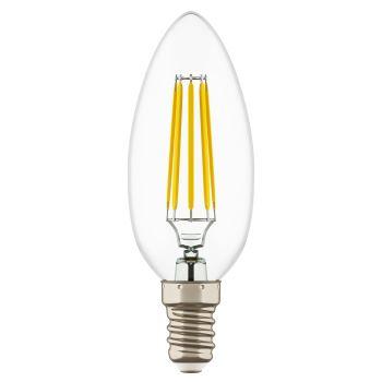 Лампа светодиодная Lightstar LED Candle Filament C35 6W E14 4200K 933504