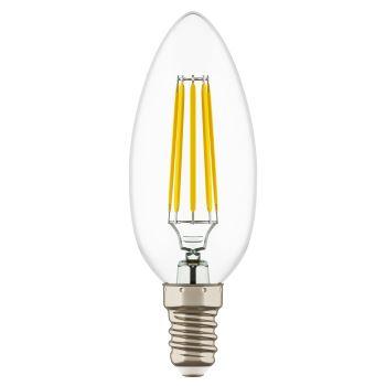 Лампа светодиодная Lightstar LED Candle C35 4W E14 2800K 940562