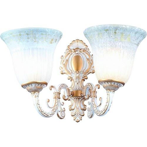 Бра Arte Lamp DELIZIA бело-золотой A1032AP-2WG