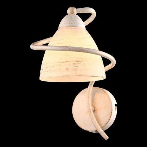 Бра Arte Lamp FABIA бело-золотой A1565AP-1WG