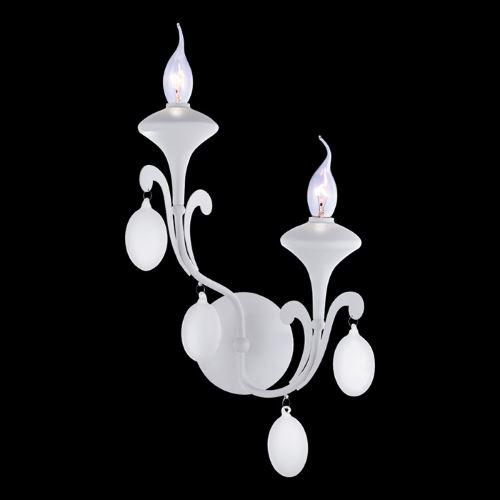Бра Arte Lamp MONTMARTRE белый A3239AP-2WH