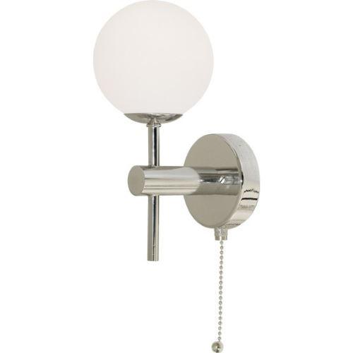 Бра Arte Lamp AQUA хром/белый A4444AP-1CC